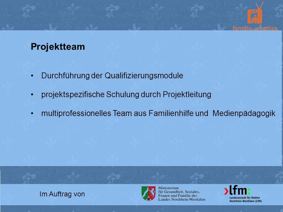 Projektteam Durchführung der Qualifizierungsmodule