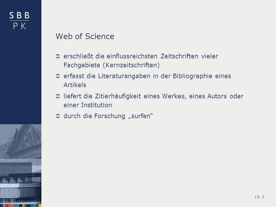 Web of Science erschließt die einflussreichsten Zeitschriften vieler Fachgebiete (Kernzeitschriften)