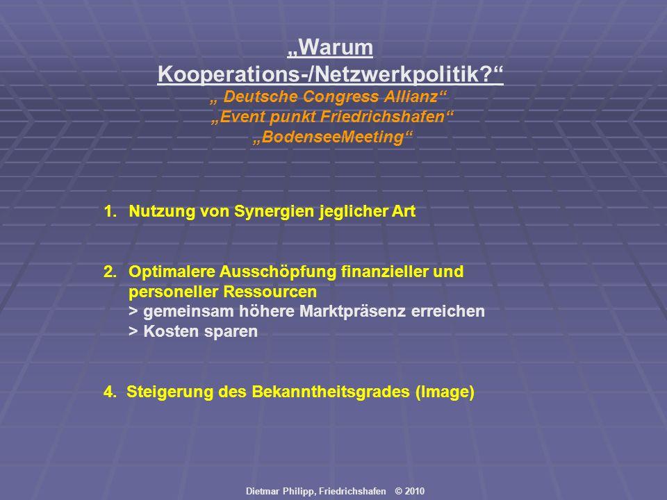 """""""Warum Kooperations-/Netzwerkpolitik"""