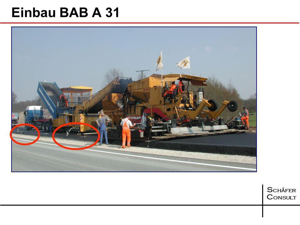 Einbau BAB A 31