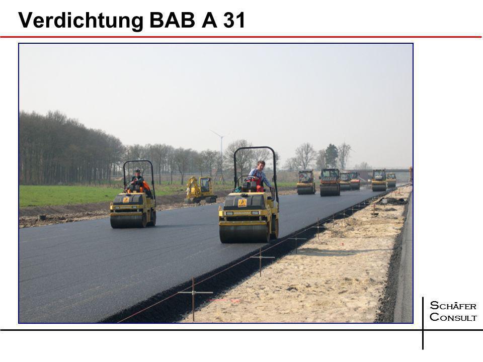 Verdichtung BAB A 31