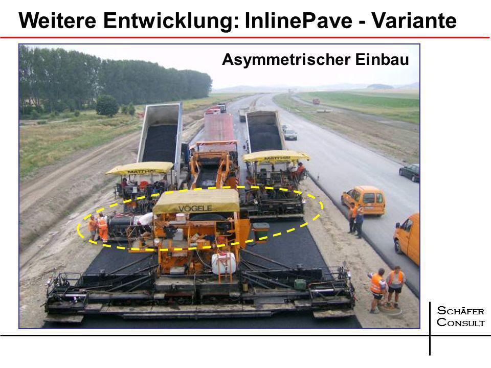 Weitere Entwicklung: InlinePave - Variante
