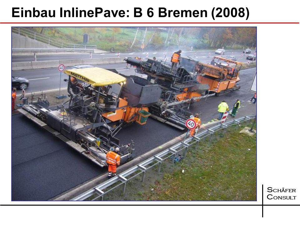 Einbau InlinePave: B 6 Bremen (2008)