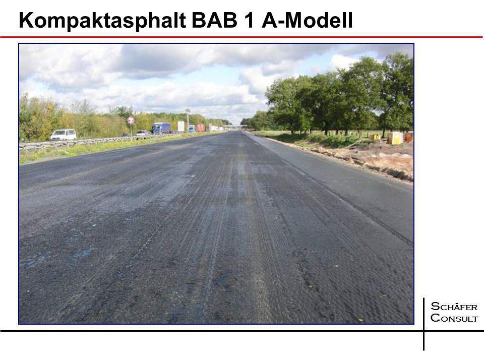 Kompaktasphalt BAB 1 A-Modell
