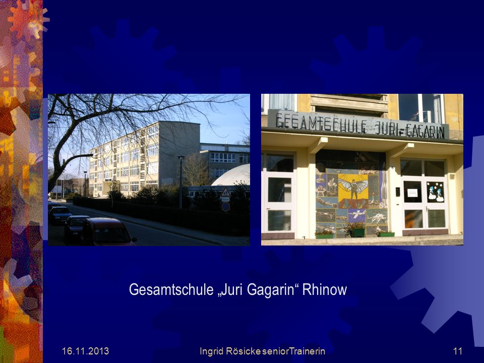 "Gesamtschule ""Juri Gagarin Rhinow"