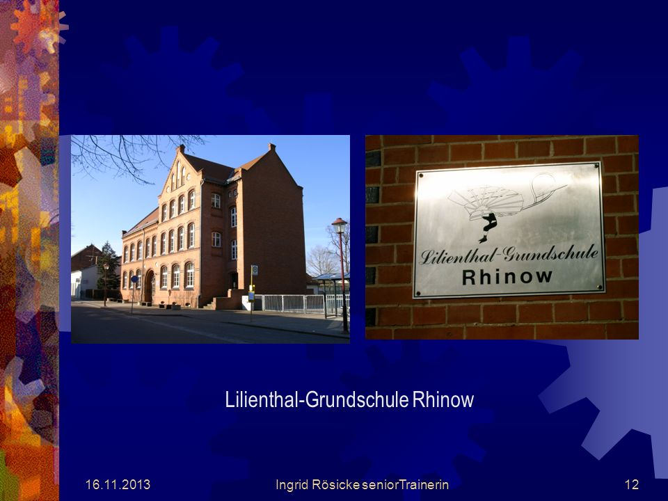 Lilienthal-Grundschule Rhinow