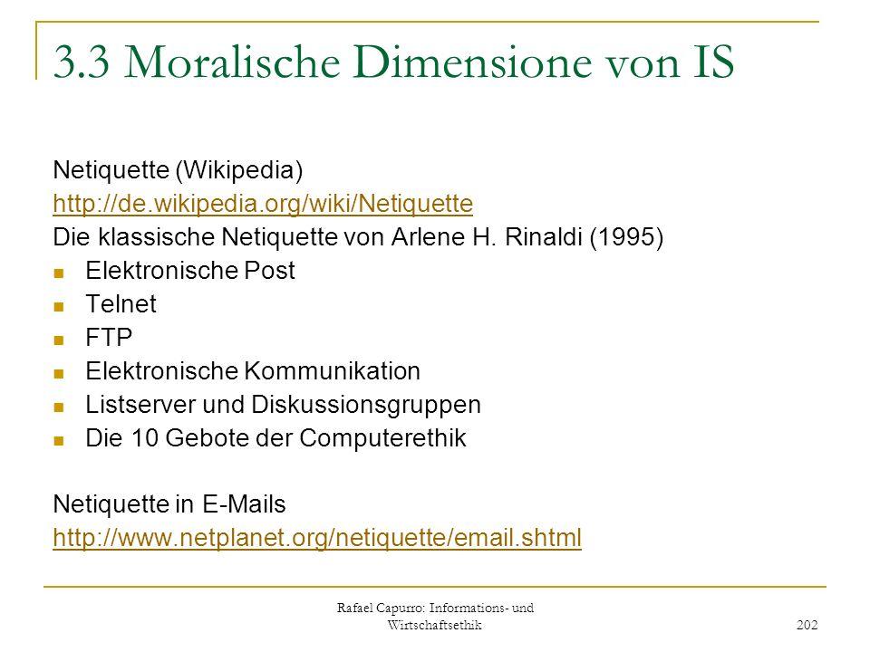 3.3 Moralische Dimensione von IS