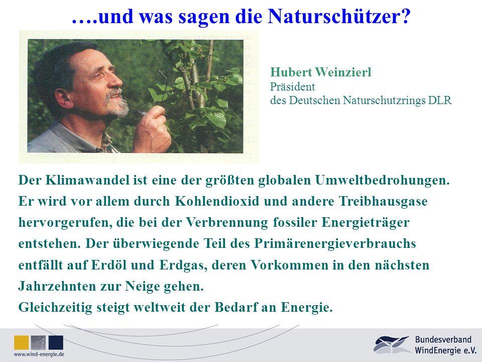 ….und was sagen die Naturschützer