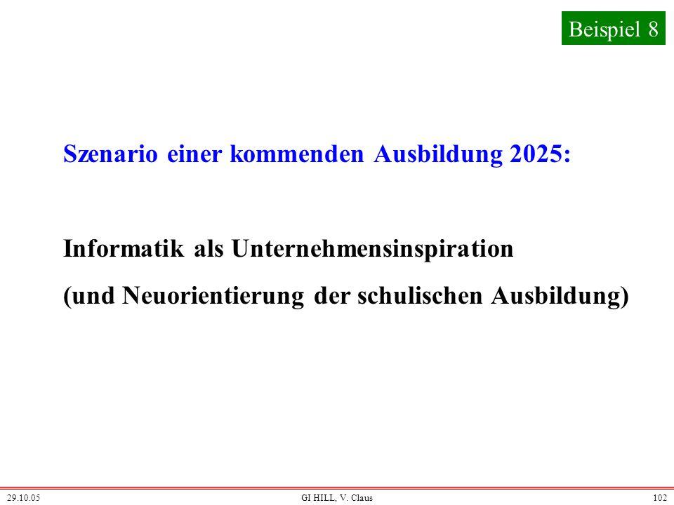 Szenario einer kommenden Ausbildung 2025: