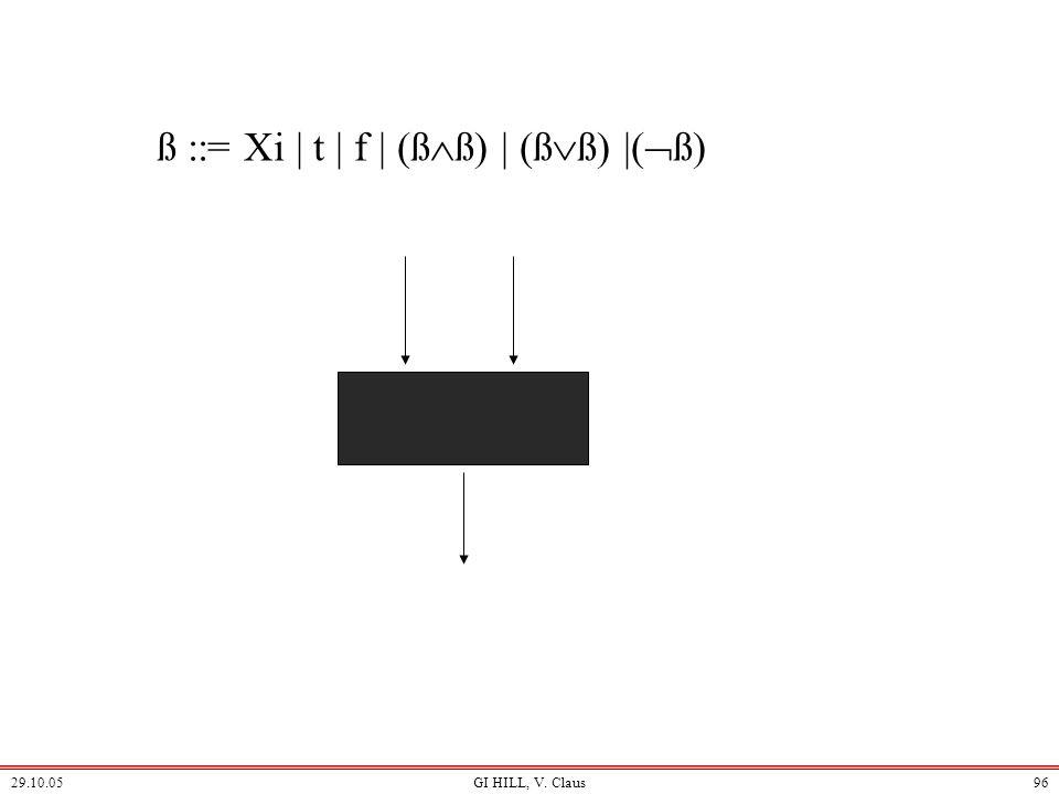 ß ::= Xi | t | f | (ßß) | (ßß) |(ß)