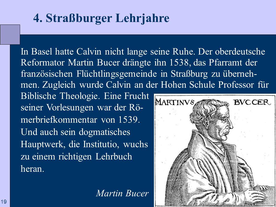 4. Straßburger Lehrjahre
