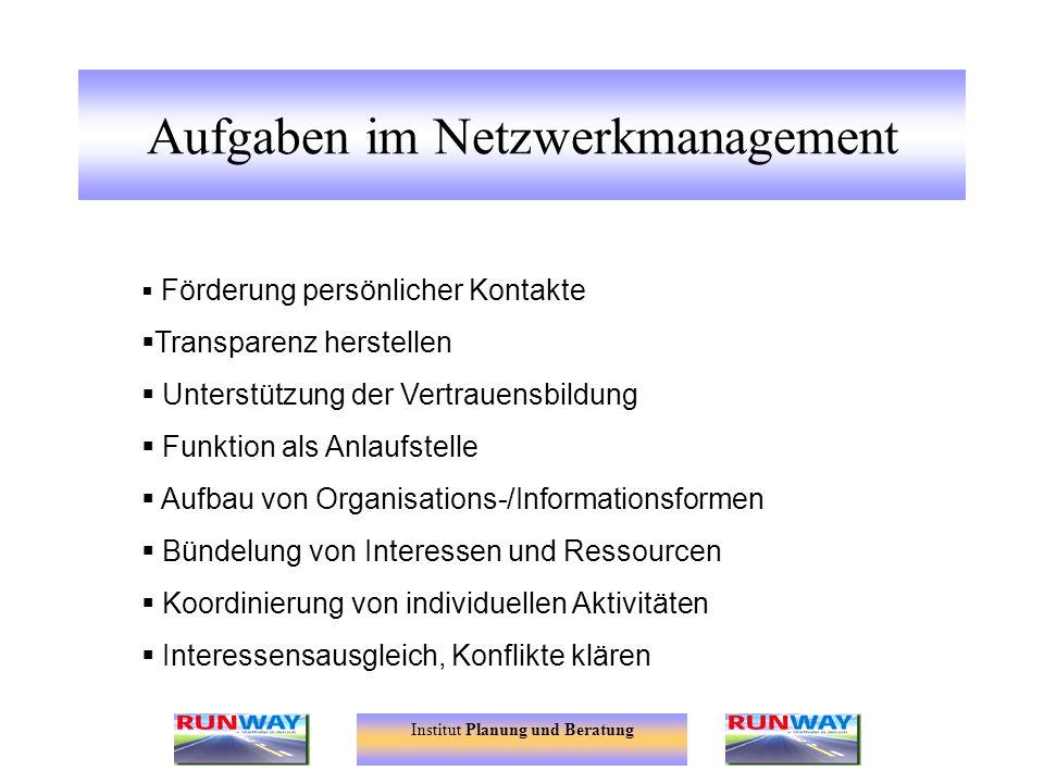Aufgaben im Netzwerkmanagement