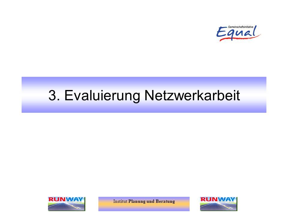 3. Evaluierung Netzwerkarbeit
