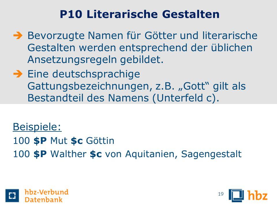 P10 Literarische Gestalten