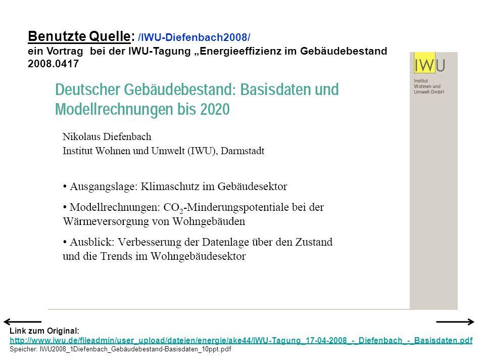 Benutzte Quelle: /IWU-Diefenbach2008/