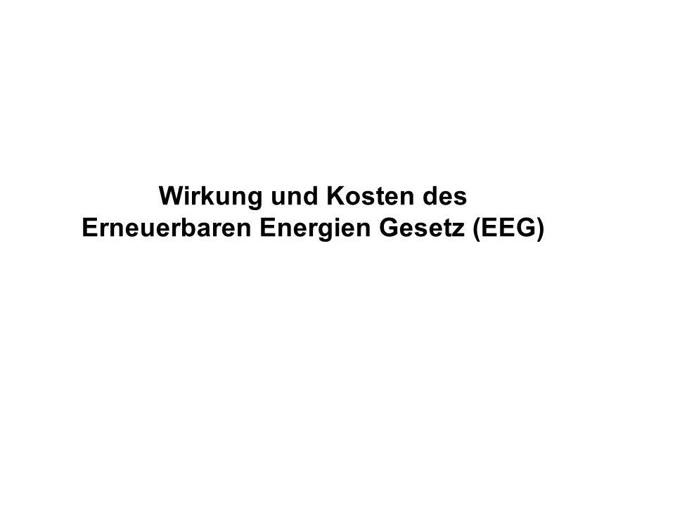Erneuerbaren Energien Gesetz (EEG)
