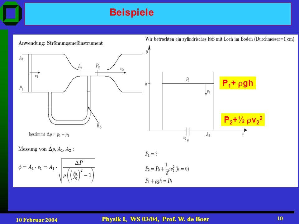 Beispiele P1+ gh P2+½ v22