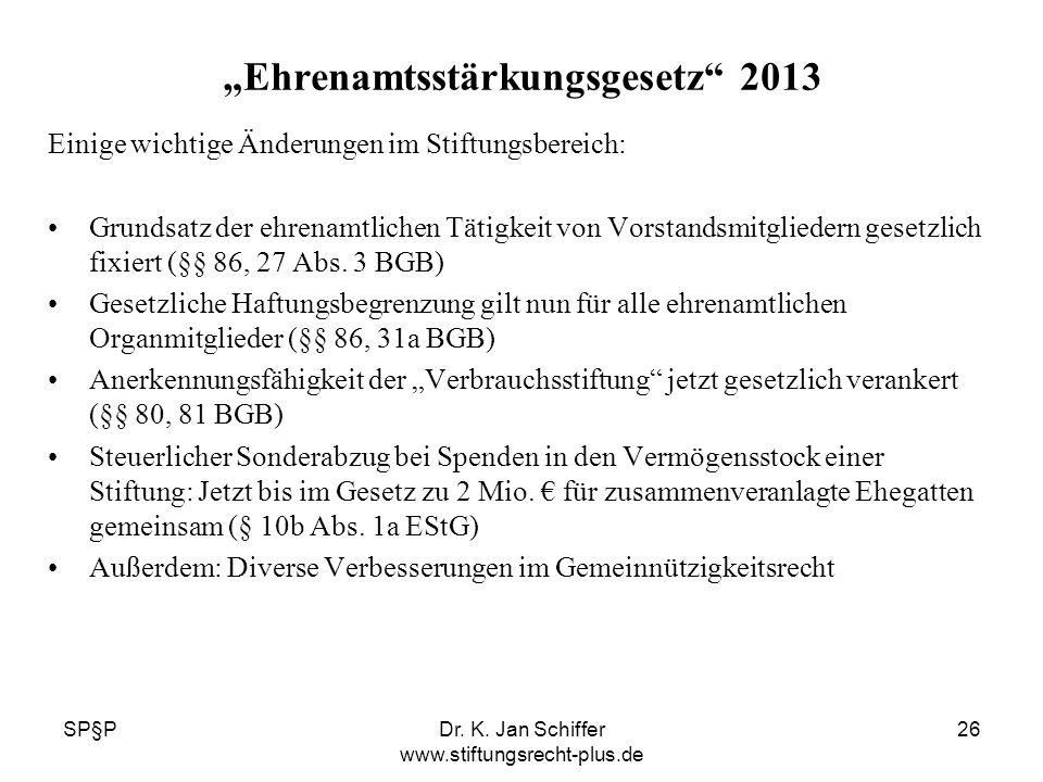 """Ehrenamtsstärkungsgesetz 2013"