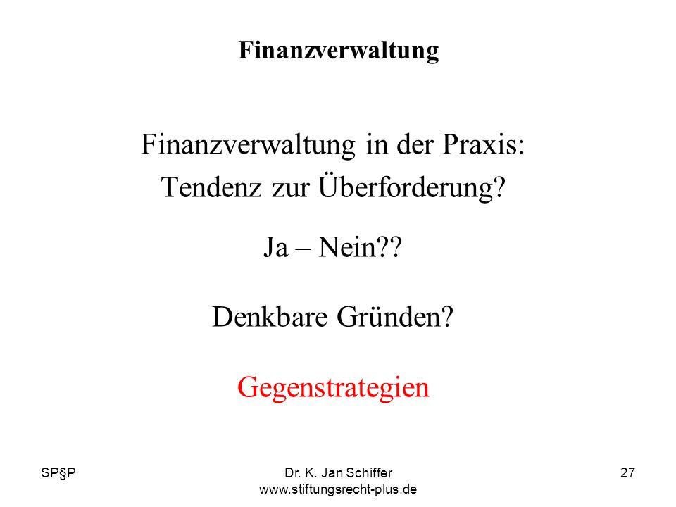 Finanzverwaltung in der Praxis: Tendenz zur Überforderung Ja – Nein