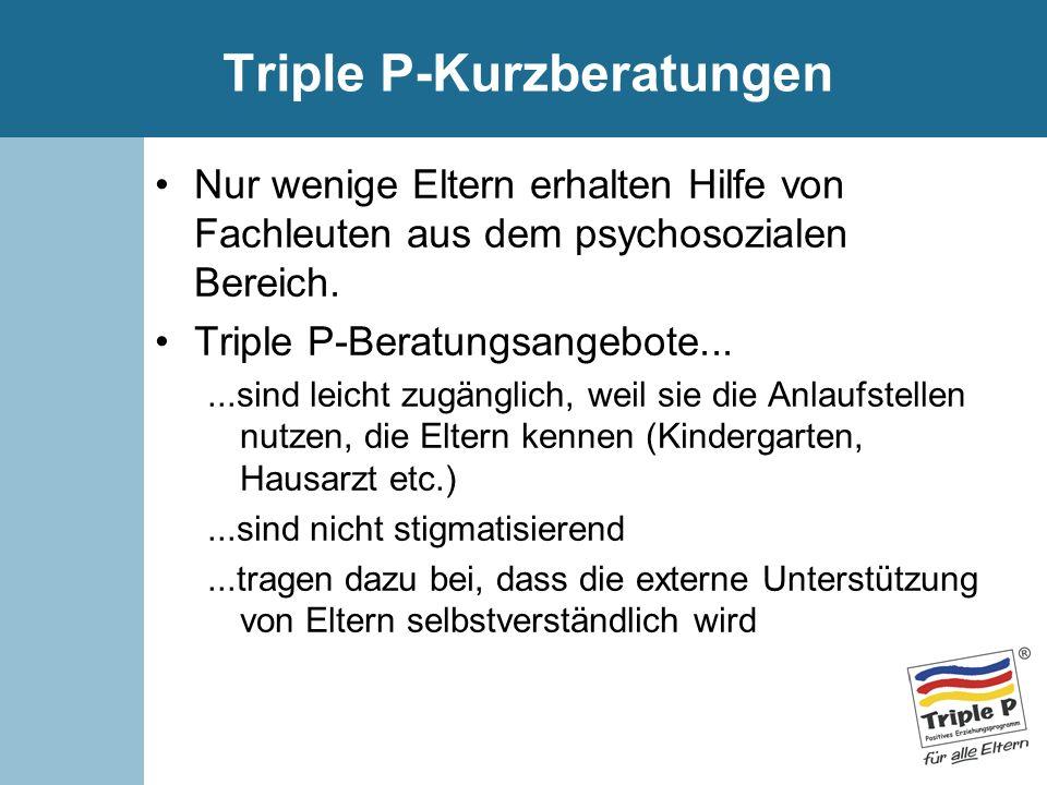 Triple P-Kurzberatungen