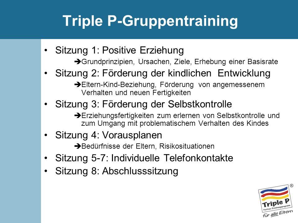 Triple P-Gruppentraining