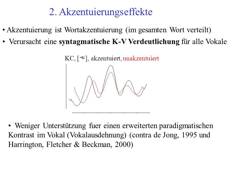 2. Akzentuierungseffekte