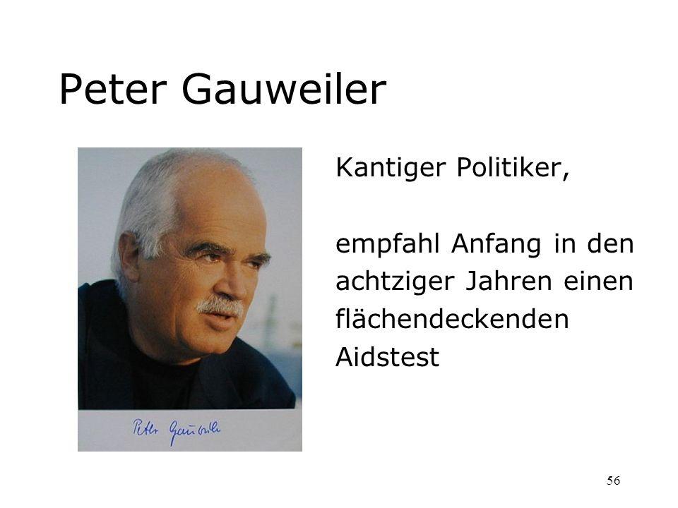 Peter Gauweiler Kantiger Politiker, empfahl Anfang in den