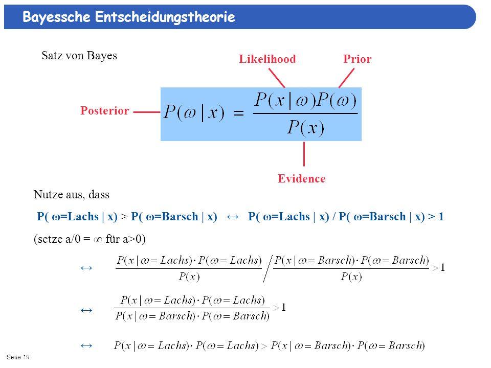 Bayessche Entscheidungstheorie
