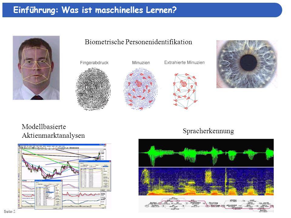 Biometrische Personenidentifikation
