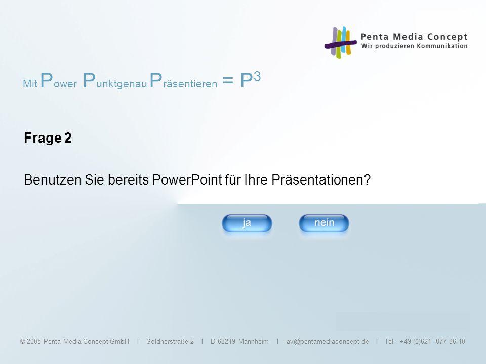 Benutzen Sie bereits PowerPoint für Ihre Präsentationen
