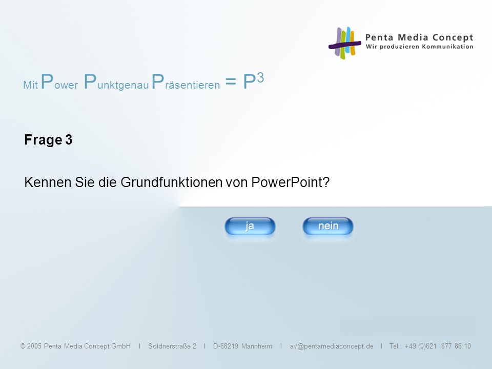 Kennen Sie die Grundfunktionen von PowerPoint