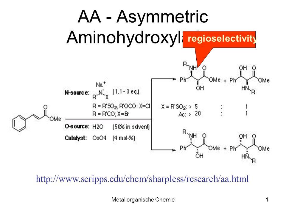 AA - Asymmetric Aminohydroxylation