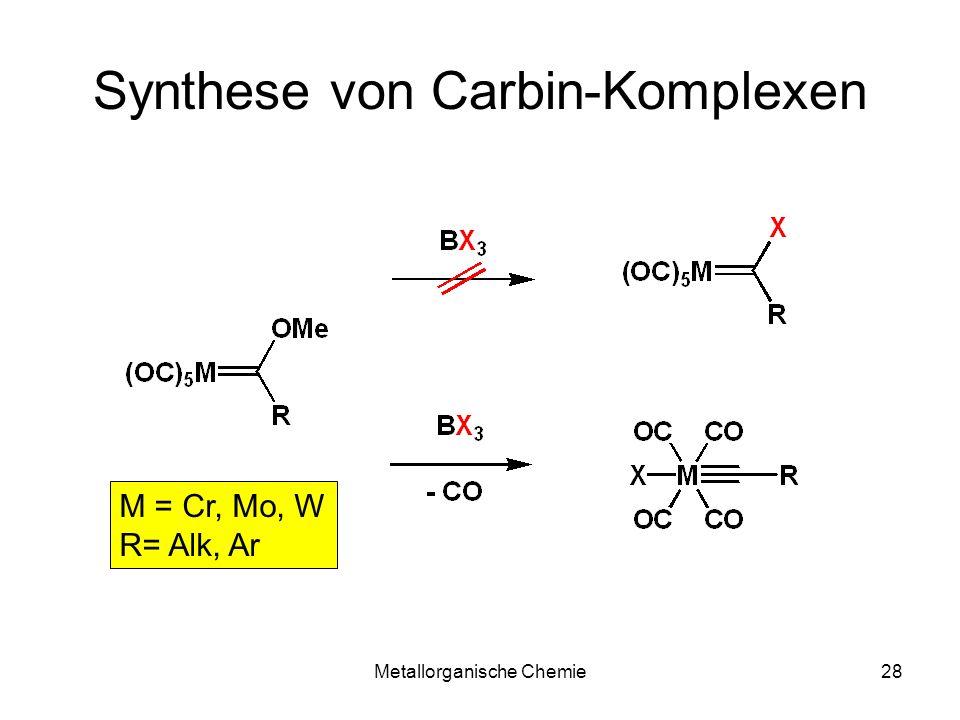 Synthese von Carbin-Komplexen
