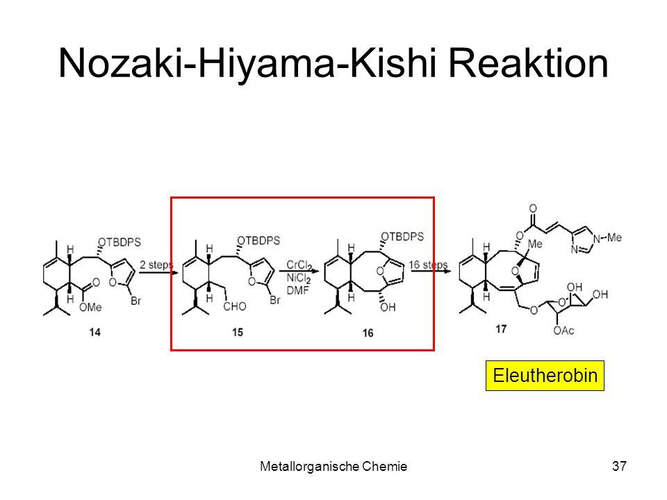 Nozaki-Hiyama-Kishi Reaktion