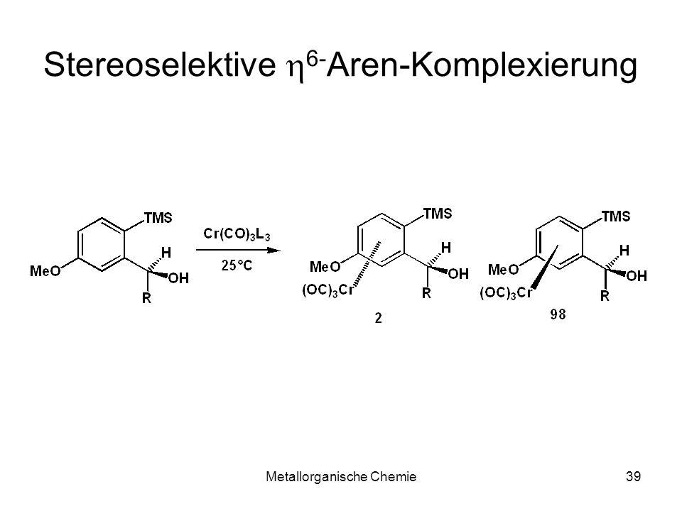 Stereoselektive h6-Aren-Komplexierung