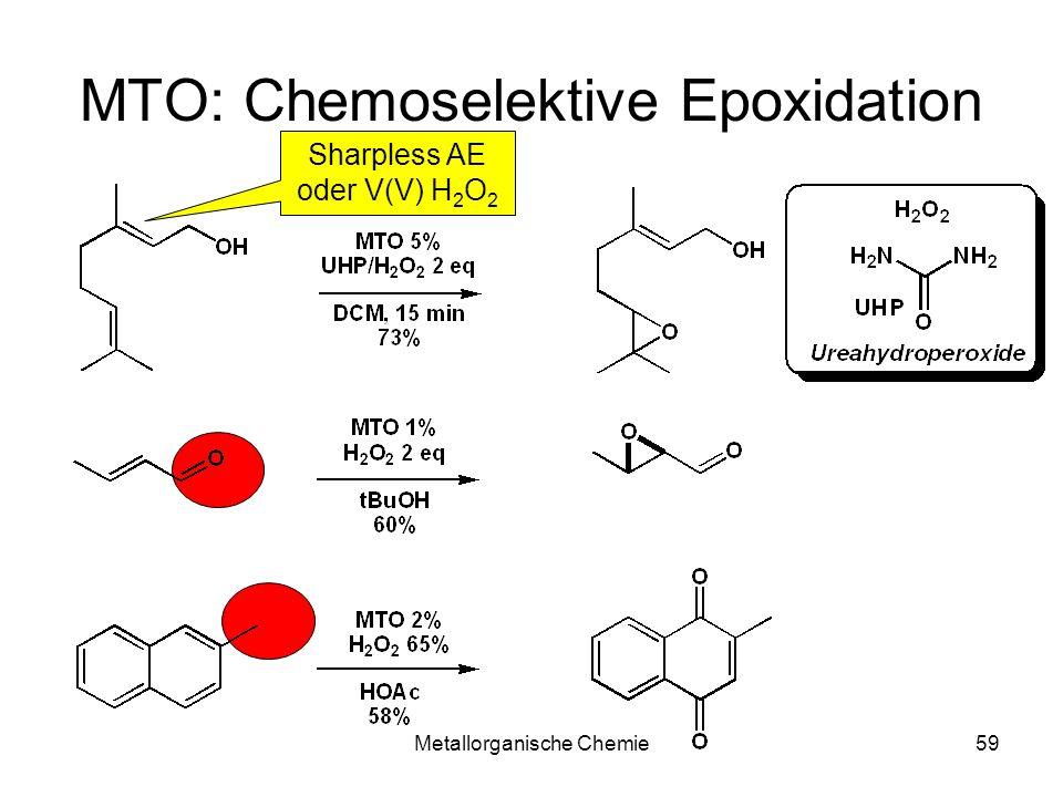 MTO: Chemoselektive Epoxidation