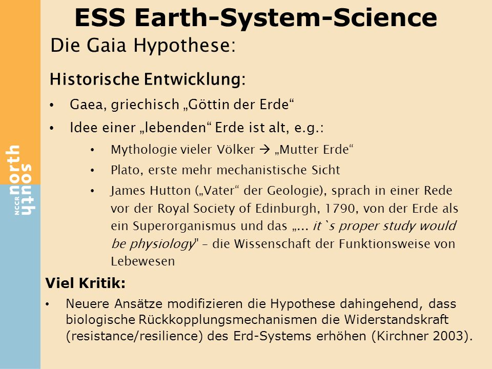 ESS Earth-System-Science