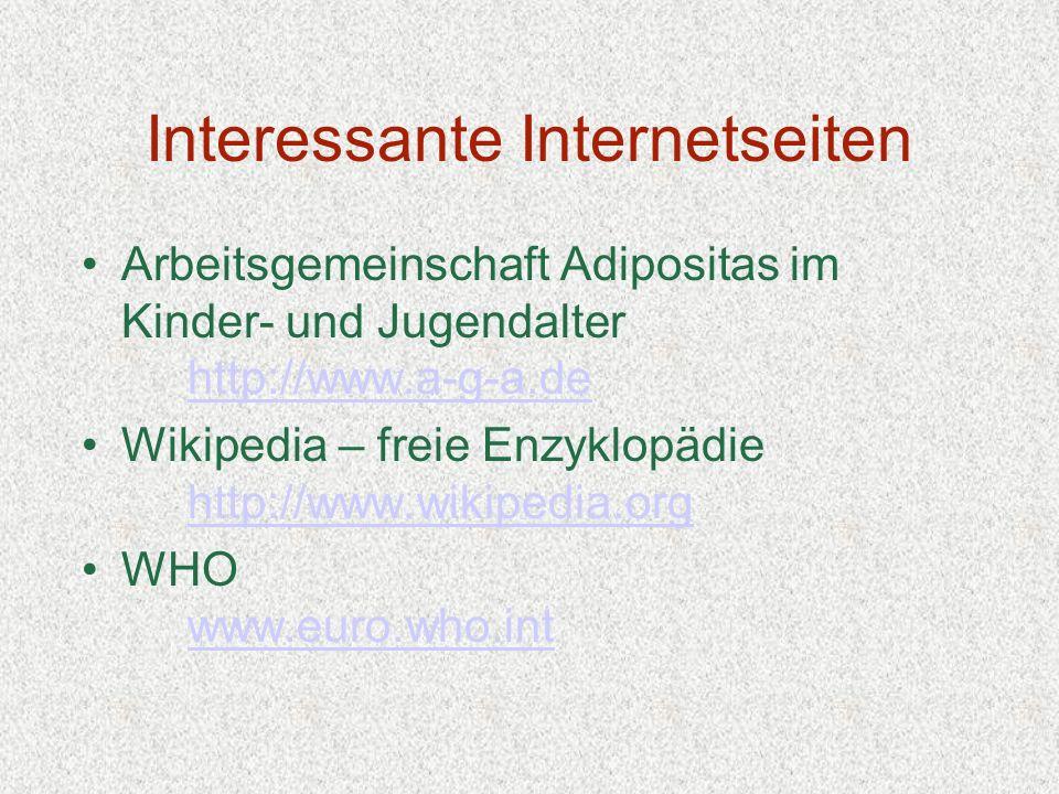 Interessante Internetseiten
