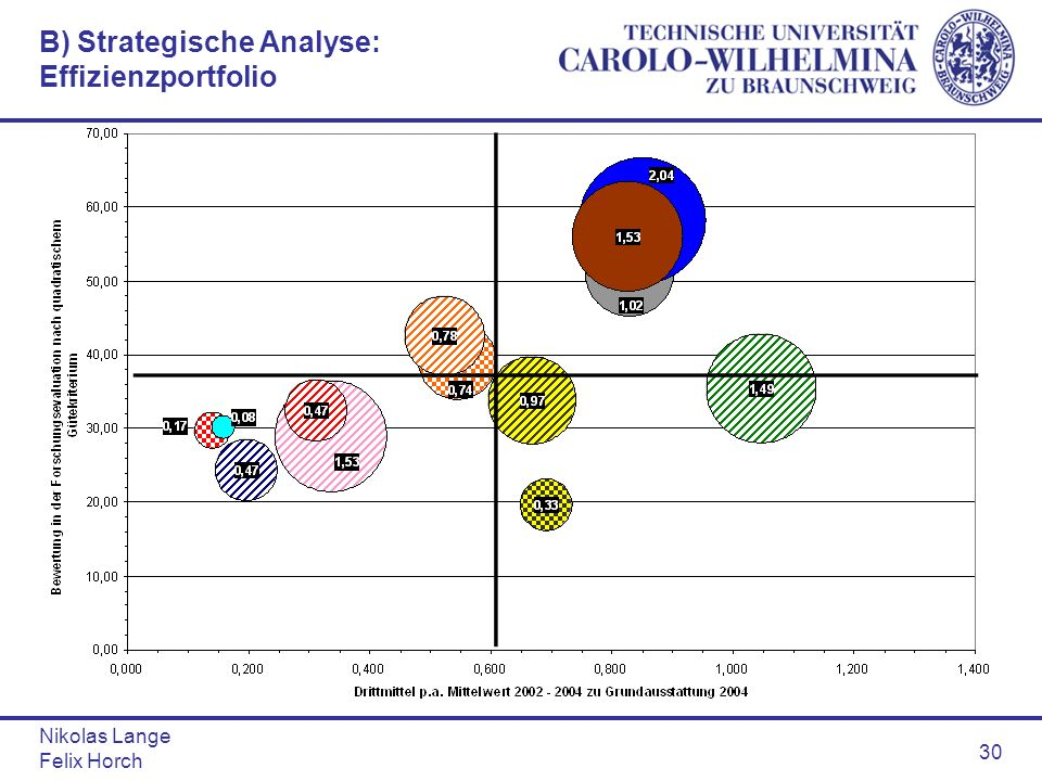 B) Strategische Analyse: Effizienzportfolio