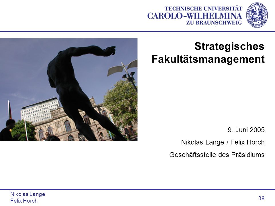 Strategisches Fakultätsmanagement