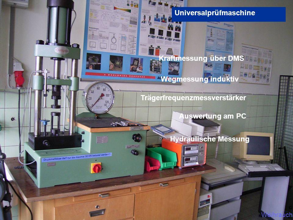 Universalprüfmaschine