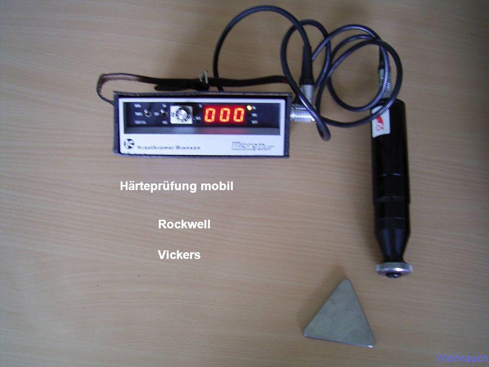 Härteprüfung mobil Rockwell Vickers 25.03.2017 FDS-Weihrauch Weihrauch