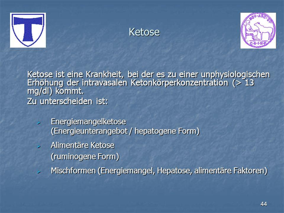 Ketose Zu unterscheiden ist:
