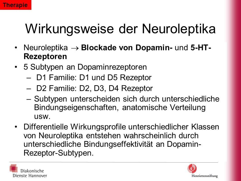 Wirkungsweise der Neuroleptika