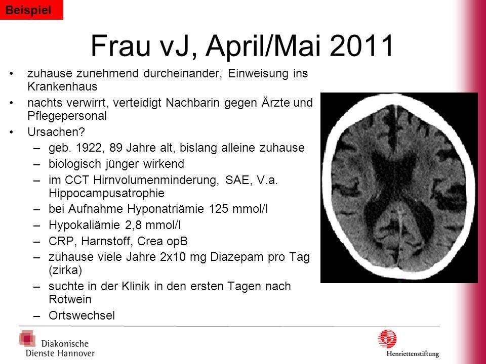 Frau vJ, April/Mai 2011 Beispiel