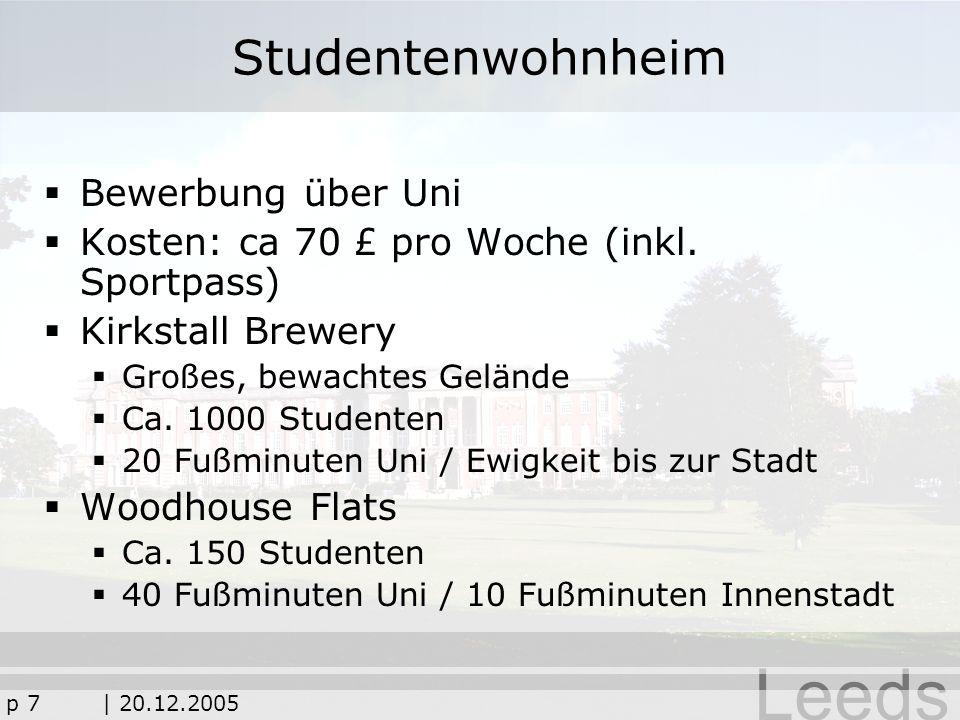 Studentenwohnheim Bewerbung über Uni