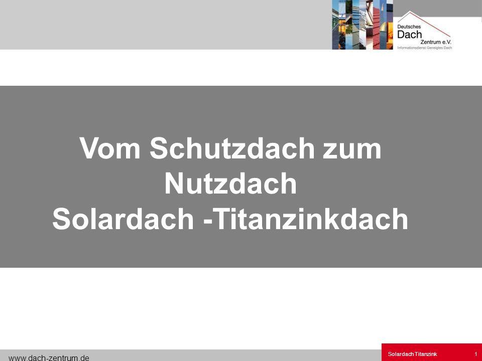 Solardach 4 Metalldach Titanzink.ppt