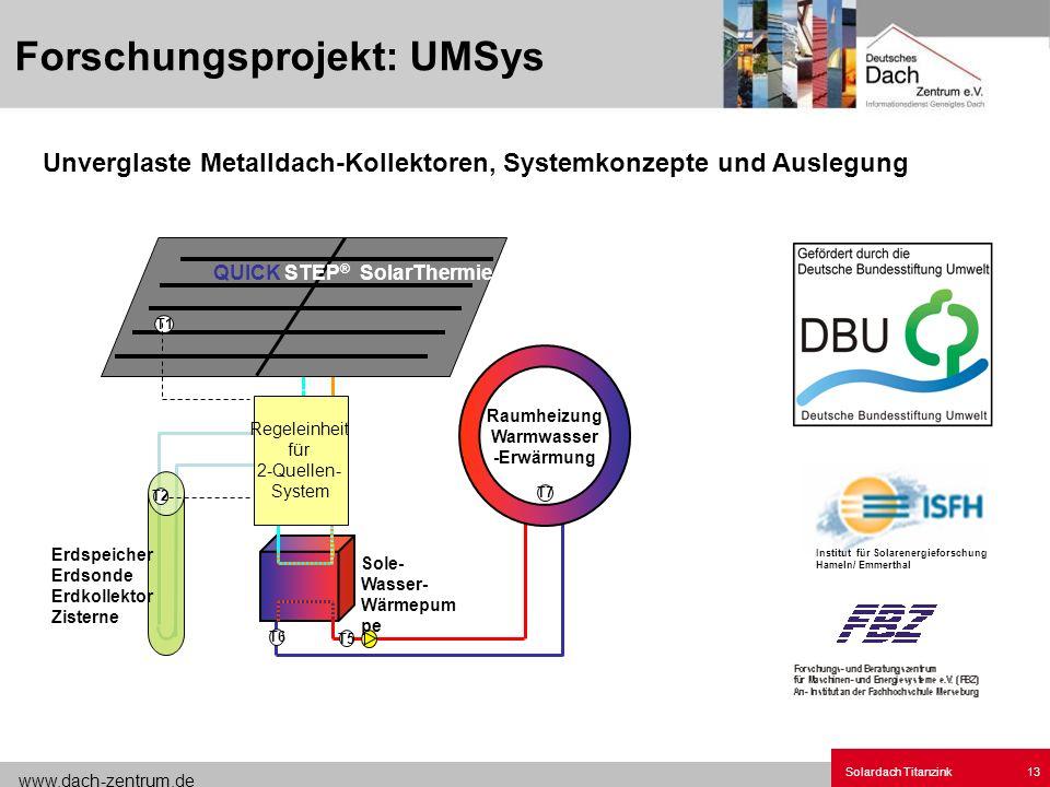 Forschungsprojekt: UMSys