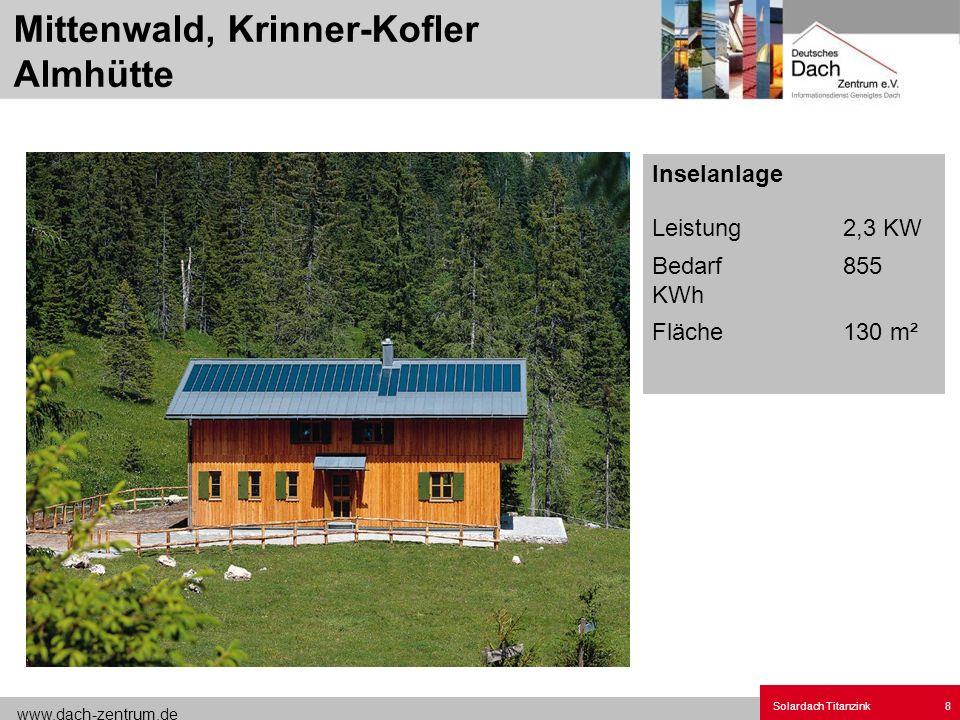 Mittenwald, Krinner-Kofler Almhütte