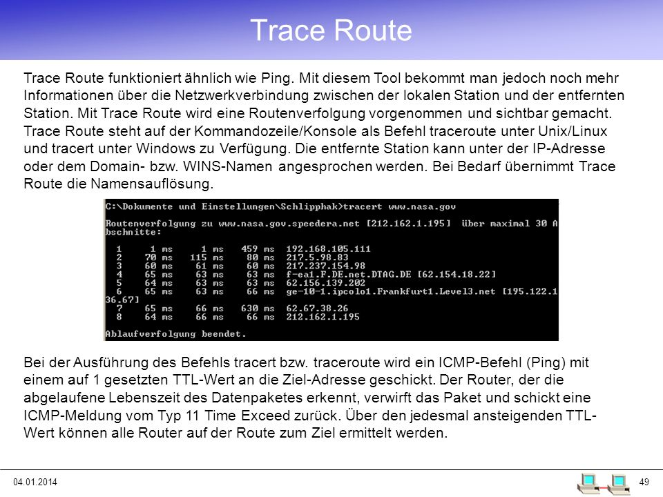 Trace Route